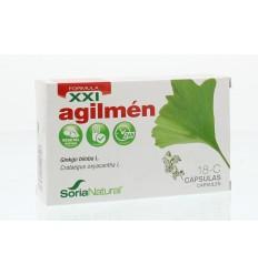 Soria 18-C Agilmen XXI 30 tabletten | € 17.67 | Superfoodstore.nl