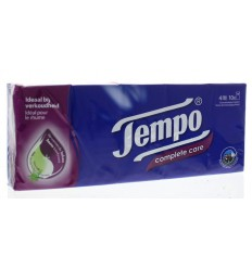 Tempo Zakdoekje complete care 10 stuks | € 2.87 | Superfoodstore.nl