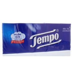 Tempo Zakdoekje original zakje van 10 15 stuks | € 4.19 | Superfoodstore.nl