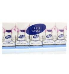 Idyl Zakdoekjes 10 x 10 100 stuks | € 1.11 | Superfoodstore.nl