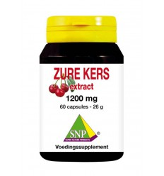 SNP Zure kers extract 1200 mg 60 capsules | € 25.26 | Superfoodstore.nl