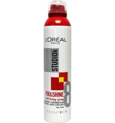 Loreal Studio line fixing spray super strong 250 ml   € 4.18   Superfoodstore.nl