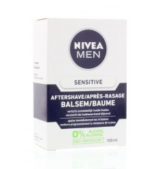 Nivea Men aftershave balsem sensitive 100 ml | € 10.22 | Superfoodstore.nl