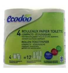 Ecodoo Toiletpapier 4 stuks | € 3.50 | Superfoodstore.nl