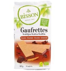 Bisson Wafels chocolade 190 gram | € 2.42 | Superfoodstore.nl