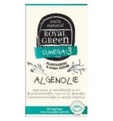 Royal Green Algenolie 60 vcaps | € 26.45 | Superfoodstore.nl
