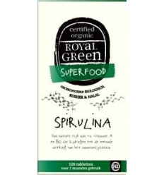 Royal Green Spirulina 120 tabletten | € 17.75 | Superfoodstore.nl