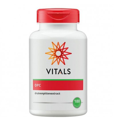Vitals OPC 100 mg 100 capsules | € 25.70 | Superfoodstore.nl