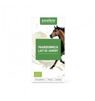 Purasana Bio paardenmelk 250 mg 90 vcaps