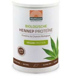Mattisson Bio hennep proteine poeder 400 gram | € 12.69 | Superfoodstore.nl
