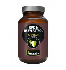Hanoju OPC resveratrol camu camu 90 capsules   € 21.79   Superfoodstore.nl