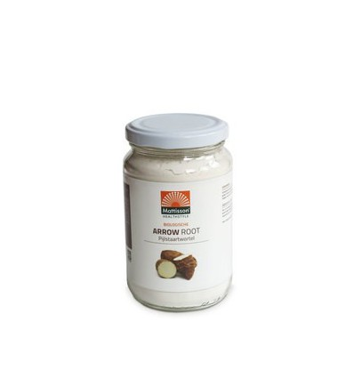 Mattisson Arrow root pijlstaartwortel poeder bio 190 gram | € 3.20 | Superfoodstore.nl