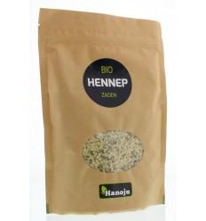 Hanoju Bio hennep zaden paper bag 250 gram | € 10.21 | Superfoodstore.nl