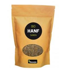 Hanoju Bio hennep zaden paper bag 500 gram | € 15.79 | Superfoodstore.nl