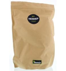 Hanoju Bio hennep poeder paper bag 1 kg | € 27.09 | Superfoodstore.nl