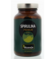Hanoju Spirulina 400 mg premium 300 tabletten | € 8.51 | Superfoodstore.nl