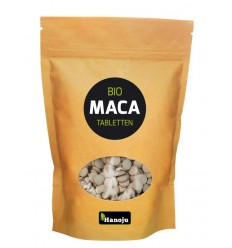 Hanoju Bio maca premium 500 mg paper bag 1000 tabletten   € 18.55   Superfoodstore.nl