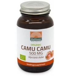 Mattisson Biologische camu camu 500 mg 60 vcaps | € 13.35 | Superfoodstore.nl