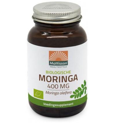 Mattisson Moringa 400 mg biologisch 60 vcaps | € 11.78 | Superfoodstore.nl