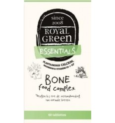 Royal Green Bone food complex 60 tabletten | € 28.35 | Superfoodstore.nl