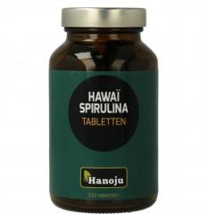 Hanoju Spirulina Hawaiiaans 500 mg 250 tabletten | € 21.59 | Superfoodstore.nl