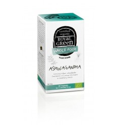Royal Green Ashwagandha 60 vcaps | € 18.34 | Superfoodstore.nl