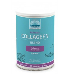 Mattisson Marine collageen poeder blend Peptan 300 gram | € 24.25 | Superfoodstore.nl