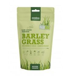 Purasana Barley grass raw juice powder 200 gram | € 16.90 | Superfoodstore.nl