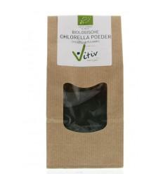 Vitiv Chlorella poeder 125 gram   € 11.78   Superfoodstore.nl