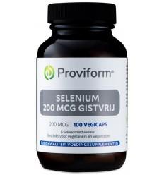 Proviform Selenium 200 mcg gistvrij 100 vcaps | € 14.15 | Superfoodstore.nl