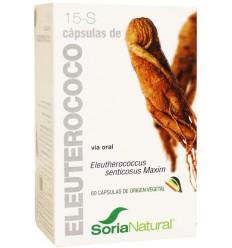 Soria 15-S Eleutherococcus XXI 30 capsules | € 17.67 | Superfoodstore.nl