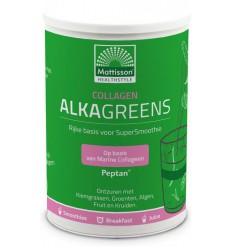 Mattisson Collageen AlkaGreens poeder 300 gram   € 22.59   Superfoodstore.nl