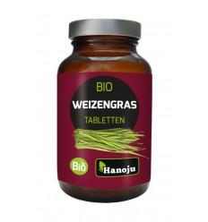 Hanoju Bio tarwegras glas flacon 600 tabletten | € 21.79 | Superfoodstore.nl