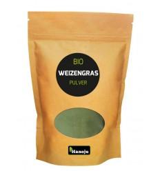 Hanoju Bio tarwegras poeder 500 gram | € 12.65 | Superfoodstore.nl