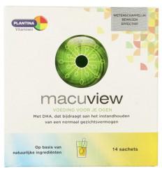 Plantina Macuview vanille twist 14 sachets | € 29.55 | Superfoodstore.nl