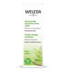Weleda Naturally clear zuiverende gezichtscreme light 30 ml | € 13.32 | Superfoodstore.nl