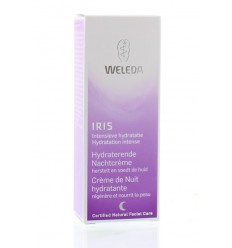 Weleda Iris hydraterende nachtcreme 30 ml | € 12.89 | Superfoodstore.nl