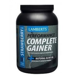 Lamberts Weight gainer strawberry whey proteine 1816 gram | € 46.58 | Superfoodstore.nl