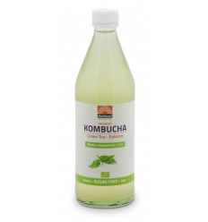 Mattisson Kombucha green tea - balance 500 ml | € 3.50 | Superfoodstore.nl