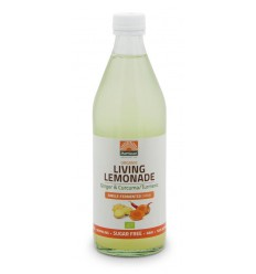 Mattisson Living lemonade ginger & curcuma 500 ml | € 3.50 | Superfoodstore.nl
