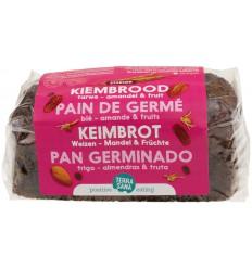 Terrasana Gekiemd brood zuidvruchten amandel 400 gram | € 2.84 | Superfoodstore.nl