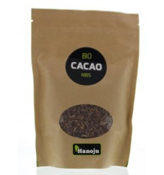 Hanoju Bio cacao nibs 250 gram | € 11.04 | Superfoodstore.nl