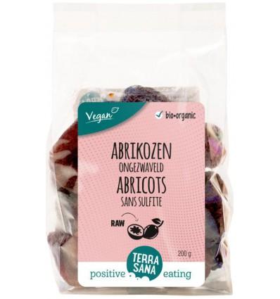 Terrasana RAW Abrikozen ongezwaveld 200 gram kopen