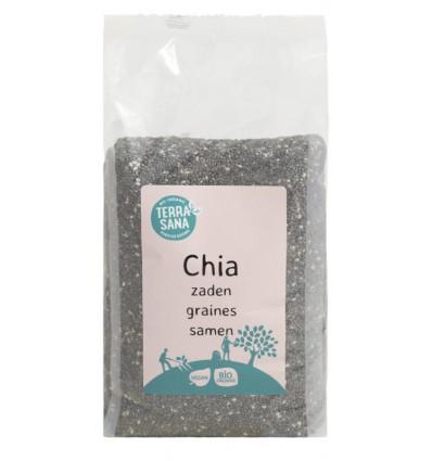 Terrasana RAW Chia zaad zwart 300 gram | € 3.25 | Superfoodstore.nl