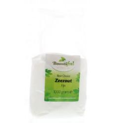 Bountiful Zeezout fijn 1 kg | € 1.47 | Superfoodstore.nl