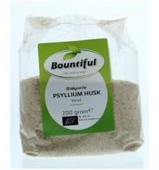 Bountiful Psyllium husk vezel/vlozaad 200 gram | € 7.08 | Superfoodstore.nl