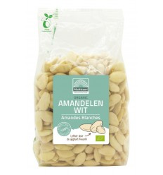 Mattisson Amandelen wit geblancheerd bio 500 gram | € 10.19 | Superfoodstore.nl