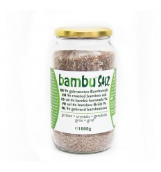 Aman Prana Bamboezout grof 9x gebrand 1 kg | € 238.55 | Superfoodstore.nl