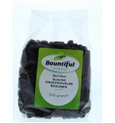Bountiful Rozijnen blauw ongezwaveld 500 gram | € 2.89 | Superfoodstore.nl