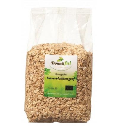 Bountiful Havervlokken grof bio 750 gram | € 2.71 | Superfoodstore.nl